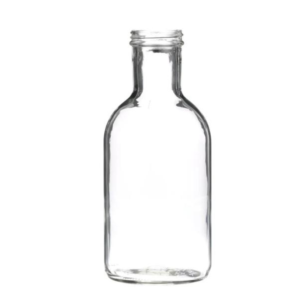 Glass-Stout-Sauce-Bottles