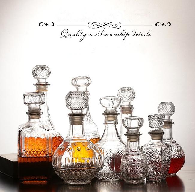 Glass-Whiskey-Bottle